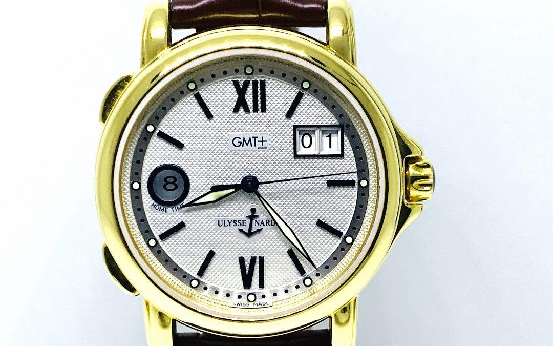 Ulysse Nardin Dual Time 40mm 18KT Gold 221-88