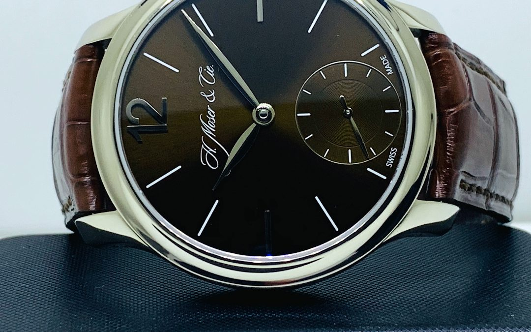 H. Moser And Cie 18KT WG Mayu 321.503-016 Bronze Dial