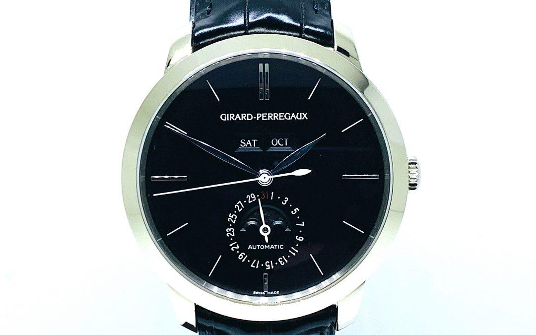 Girard Perregaux 18KT WG 1966 Calendar Moonphase 49535