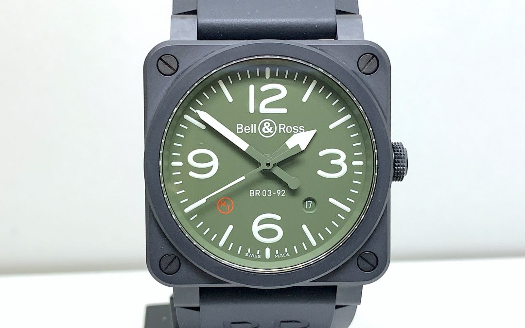 Bell & Ross Military Type Ceramic BR03-92-MIL-CE