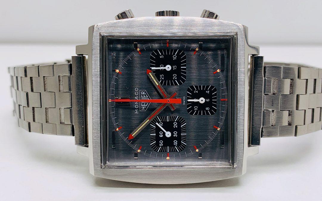 Heuer Vintage 1970s Heuer Monaco 73633G