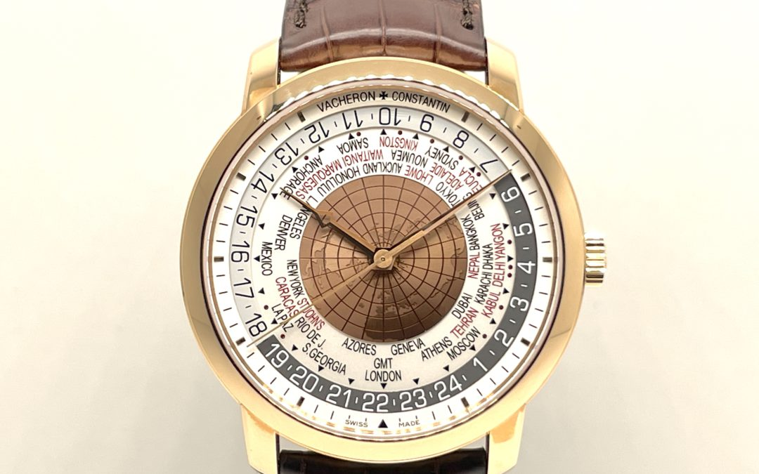 Vacheron Constantin Traditionnelle World Time 18KT RG 86060/000R